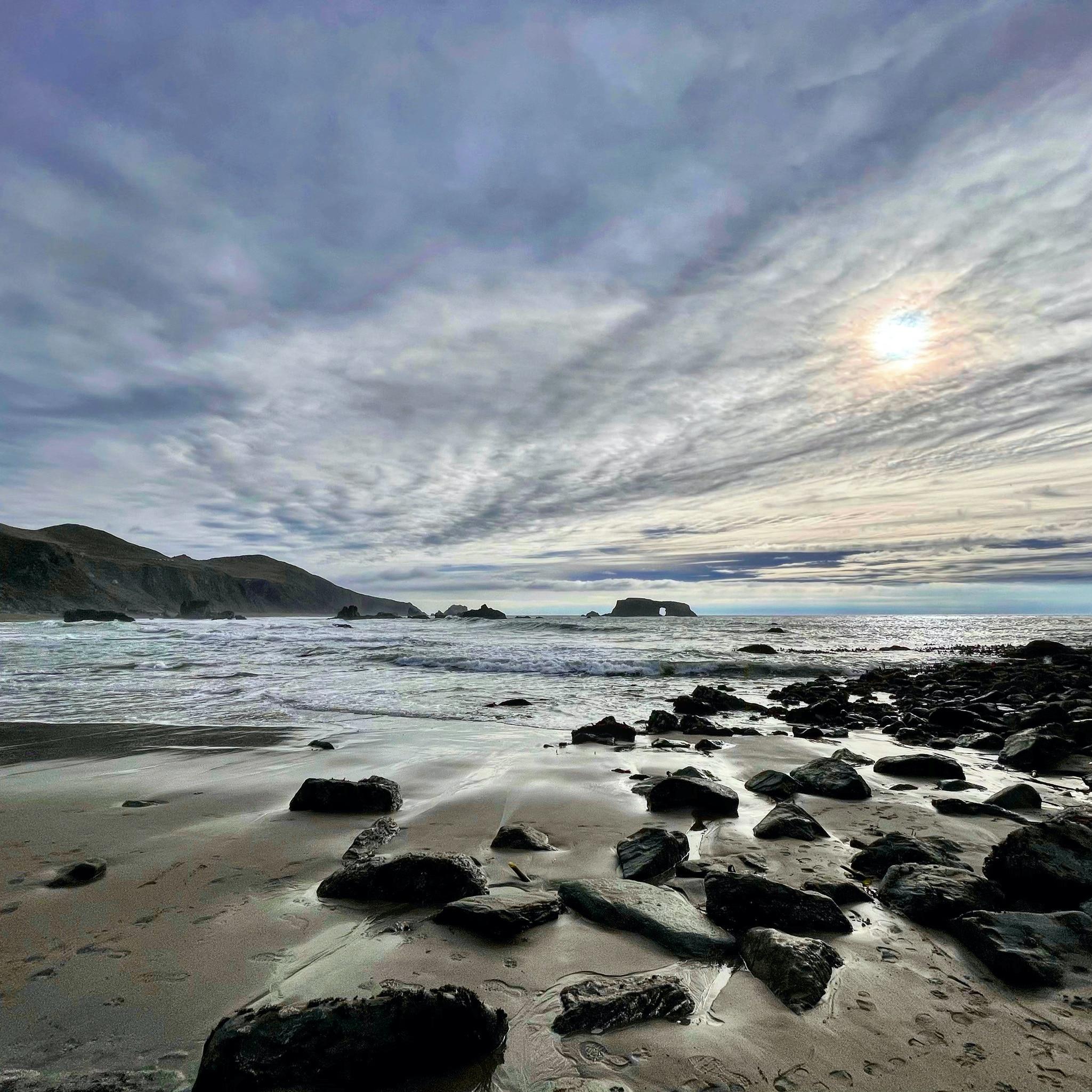 Coastal sky